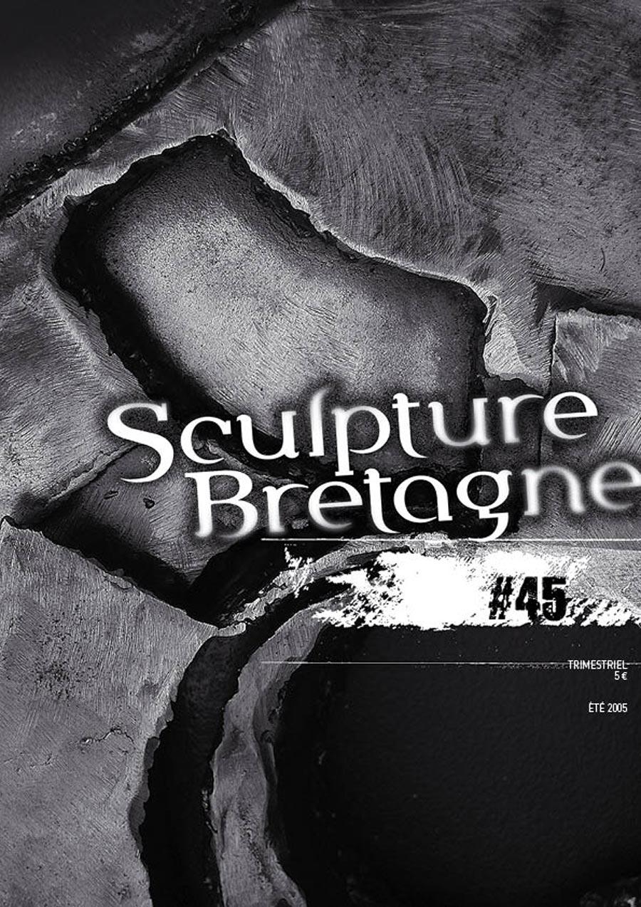 Maquette et réalisation de la revue Sculpture Bretagne N°45