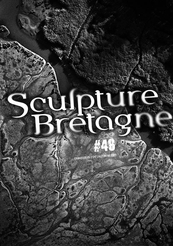 Maquette et réalisation de la revue Sculpture Bretagne n°48