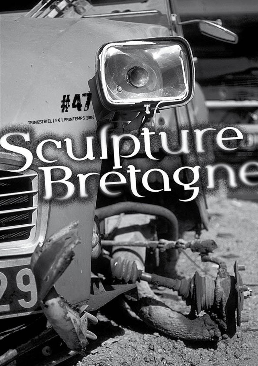 Maquette et réalisation de la revue Sculpture Bretagne n°47