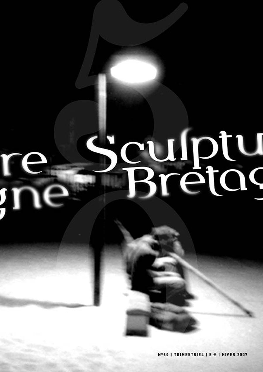 Maquette et réalisation de la revue Sculpture Bretagne N°50