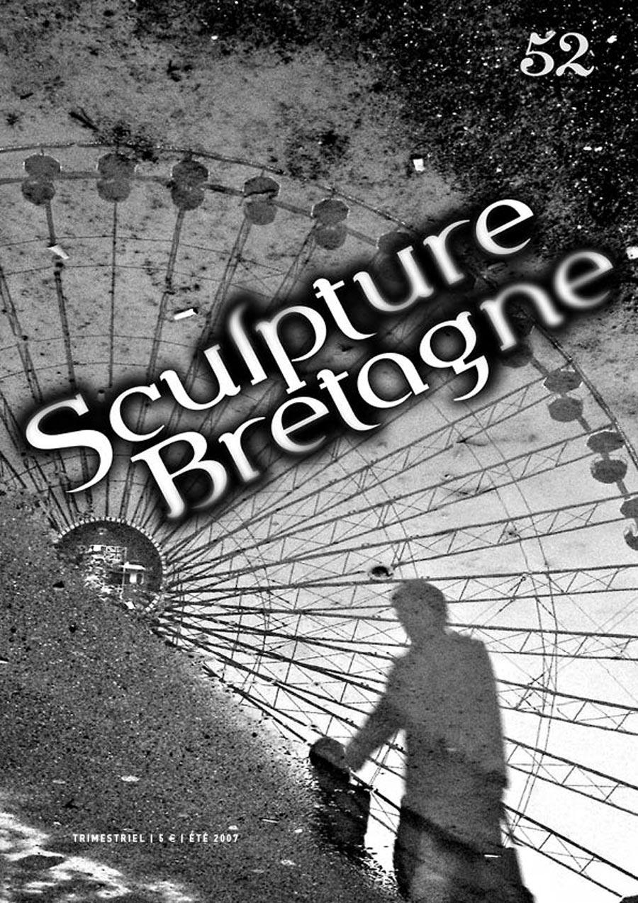 Maquette et réalisation de la revue Sculpture Bretagne n°52